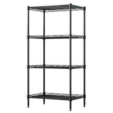 China Hot Selling Wlt C18 Heavy Duty Chrome Storage Display Rack Wire Shelving