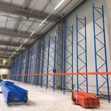 Integrated Shelving for Shops with Heavy Duty Post Frame
